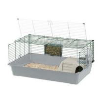 FERPLAST Rabbit 100 - Gabbia per conigli e roditori con sportello apribile - In vari colori