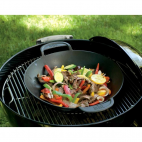 Padella per barbecue Weber wok gourmet 8856 Ø 57 cm