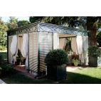 Unosider gazebo da giardino luxury home