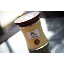 Woodwick candela giara piccola