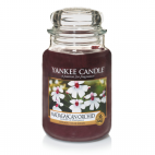 Yankee candle madagascan orchid giara grande