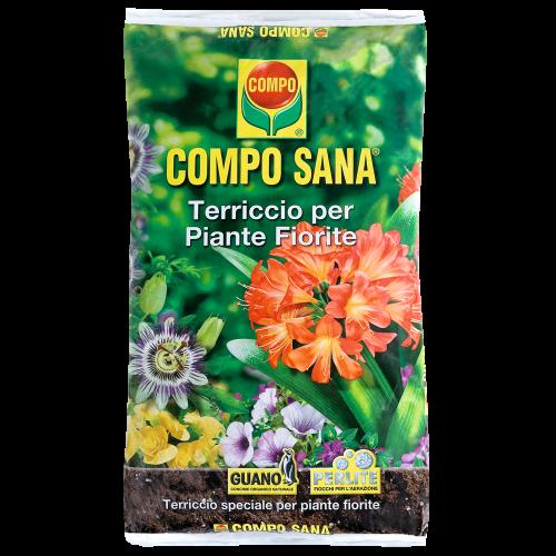 Terriccio per piante fiorite Compo sana 20 L