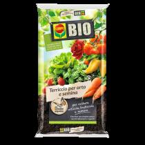 Terriccio Compo bio per orto e semina