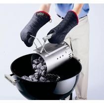 Weber kit ciminiera di accensione + 2 kg bricchetti + 6 cubetti accendifuoco