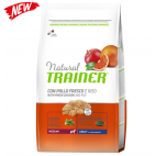 Crocchette per cani Trainer natural medium pollo, riso e aloe vera 12 Kg