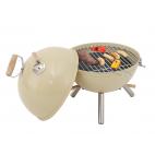 Mini barbecue a carbone Ø 30 cm ivory