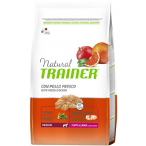 Crocchette per cani Trainer natural puppy & junior medium 12,5 kg