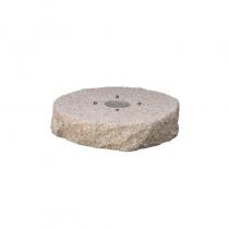 Bel-Fer pozzetto per fontana in PVC con piastra in metallo preforata
