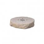 Bel-Fer pozzetto per fontana in granito rosa preforata 42/BSG
