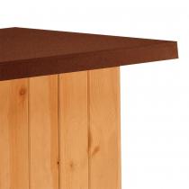 Ferplast baita 100 cuccia in legno per cani da esterni