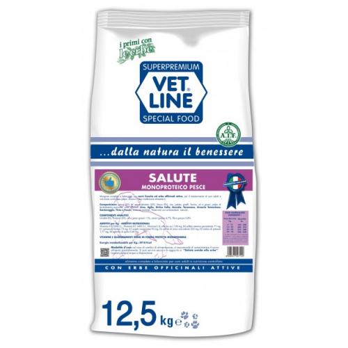 Crocchette per cani Vet Line accrescimento monoproteico bufalo 12,5 Kg