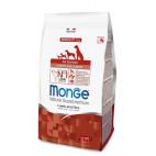 Crocchette per cani Monge puppy & junior agnello e riso 12 kg