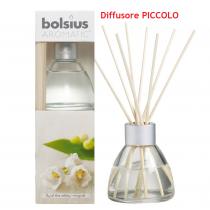 Bolsius Aromatic mughetto diffusore grande a lamelle con bastoncini
