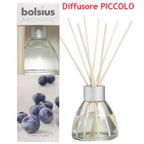 Bolsius Aromatic mirtillo diffusore a lamelle con bastoncini