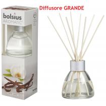 Bolsius Aromatic vaniglia diffusore a lamelle con bastoncini
