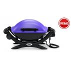 Weber Q 1400 purple viola barbecue elettrico