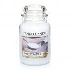 Yankee candle baby powder giara grande