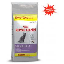 Crocchette per gatti Royal canin sterilised 37 10 kg + 2 gratis (12 Kg)