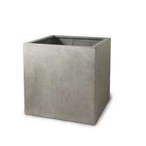 Paolelli Garden vaso da giardino springfield concrete line in fibra di argilla fiberclay 90x90