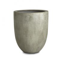 Paolelli Garden vaso da giardino pittsburg concrete line in fibra di argilla fiberclay 45x45x90