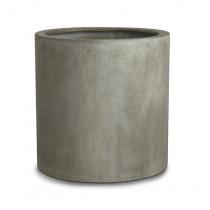 Paolelli Garden vaso da giardino Indianapolis concrete line in fibra di argilla fiberclay