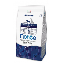 Crocchette per cani Monge medium adult 12 Kg