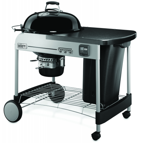 Barbecue a carbone Weber performer premium Ø 57 cm black GBS