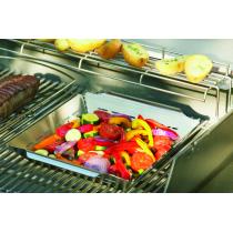 Vassoio verdure barbecue Weber inox style 6434