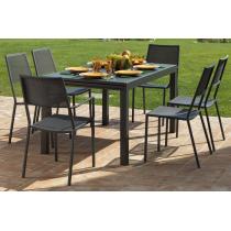 Vermobil tavolo sofy estensibile grigio antico 140/280 x 90