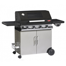 Il Bracere barbecue a gas Beefeater Discovery 1100E 4 fuochi con carrello e fornello