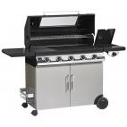 Il Bracere barbecue a gas Beefeater Discovery 1100E 5 fuochi con carrello e fornello