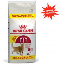 Crocchette per gatti Royal canin fit 32 10 Kg + 2 omaggio! (12 Kg)