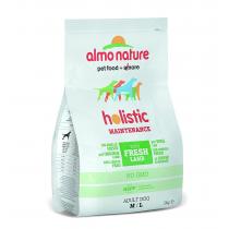Crocchette per cani Almo nature holistic adult medium agnello e riso 2 kg