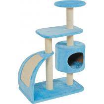 Zolux tiragraffi per gatti wave large blu