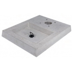 Bel-Fer base in cemento con vaschetta per fontanella 42/BSC/4