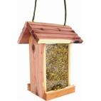 Bavicchi Wildlife mangiatoia in legno di cedro rosso americano per uccelli selvatici