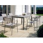 Vermobil tavolo sofy estensibile fango 100/200 x 70 cm