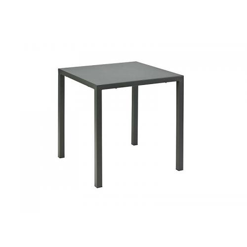 Vermobil tavolo quatris 70 x 70 in metallo verniciato for Tavolo 70 x 120